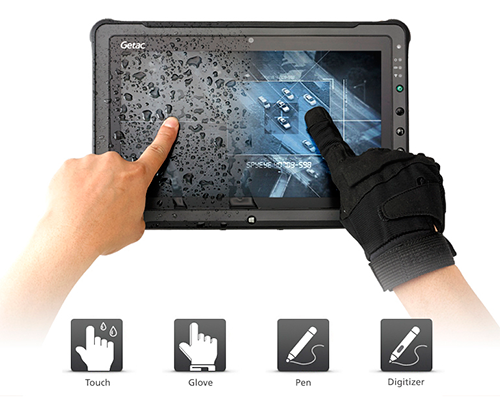 Getac Rugged Notebook, Tablet, Handheld