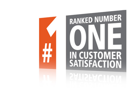 Ranked Number One in Customer Satisfaction
